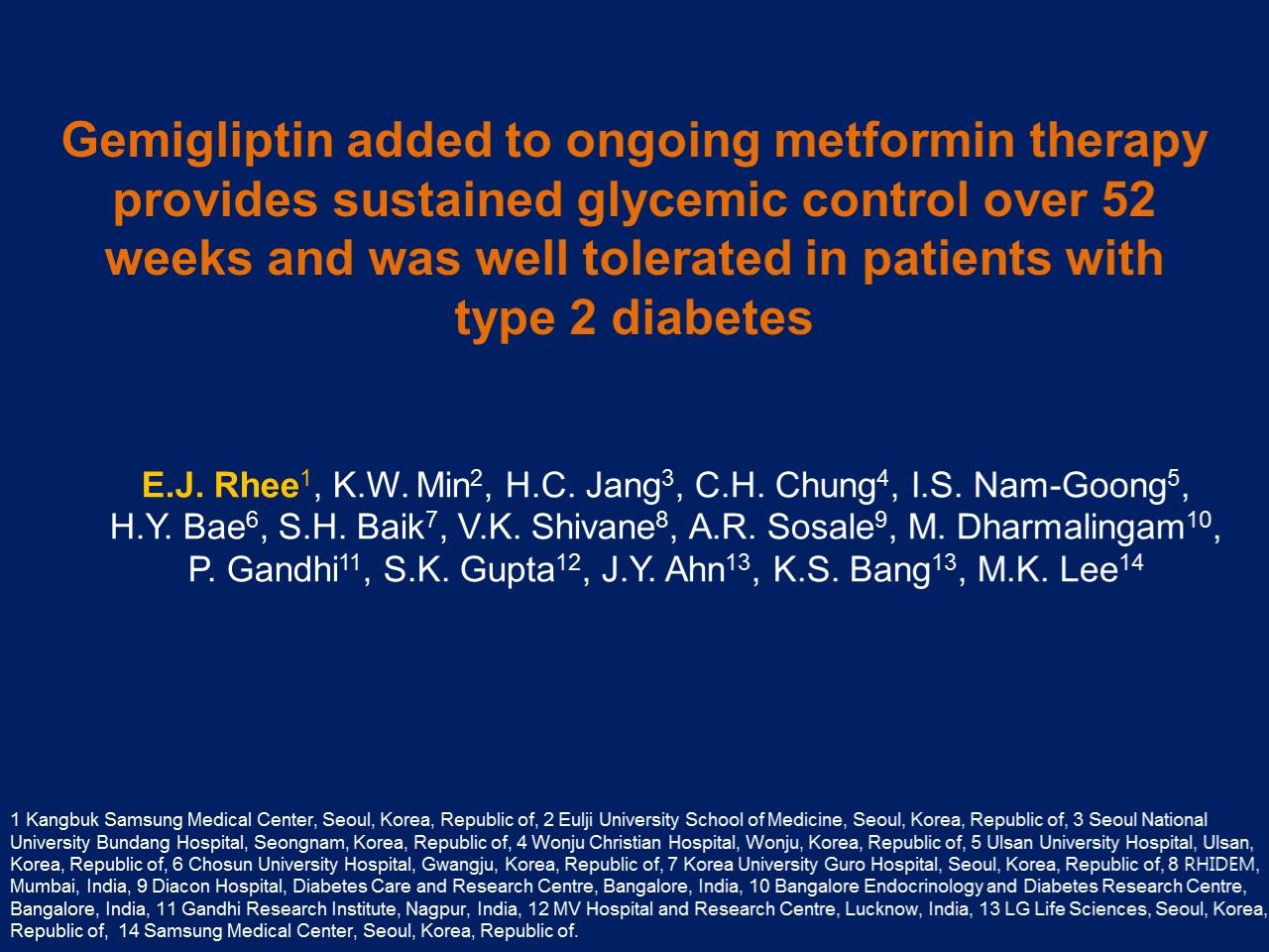 cura de diabetes gemigliptin